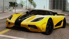 Koenigsegg Agera R 2014 for GTA San Andreas