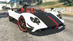 Pagani Zonda Cinque Roadster for GTA 5