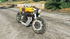Honda CB 1800 Cafe Racer Paint for GTA 5