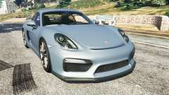 Porsche Cayman 2016 for GTA 5
