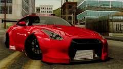 Nissan GT-R Liberty Walk Performance