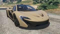 McLaren P1 2014 v1.2 for GTA 5