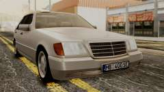 Mercedes-Benz W140 400SE 1992 for GTA San Andreas