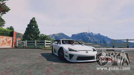 Lexus LFA 2012 for GTA 5