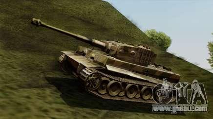 Panzerkampfwagen VI Ausf. E Tiger for GTA San Andreas