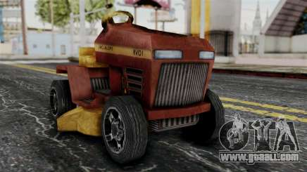 Mower from Bully for GTA San Andreas
