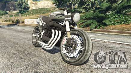 Honda CB 1800 Cafe Racer with Stickers for GTA 5