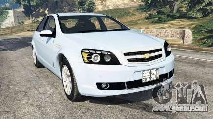 Chevrolet Caprice LS 2014 for GTA 5