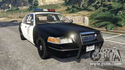 Ford Crown Victoria 1999 Police v1.0 for GTA 5