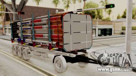 Timber Trailer from ETS 2 for GTA San Andreas