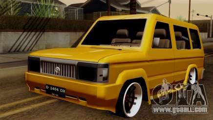 Toyota Kijang Tuned for GTA San Andreas
