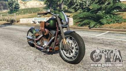 Harley-Davidson Fat Boy Lo Racing Bobber v1.1 for GTA 5