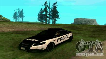 Federal Police Ford Taurus HSO for GTA San Andreas