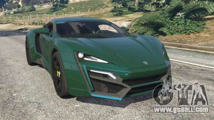 Lykan Hypersport 2014 v1.1.5 for GTA 5