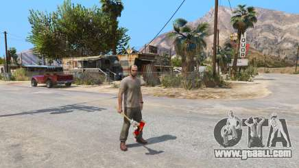 Axe from Dead Rising for GTA 5