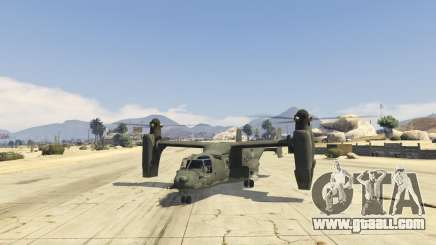 CV-22B Osprey (VTOL) for GTA 5