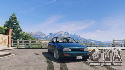 Volkswagen Golf MK3 GTi for GTA 5