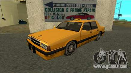 Willard Taxi for GTA San Andreas