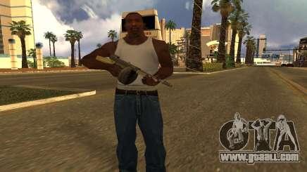 GTA 5 Gusenberg Sweeper for GTA San Andreas