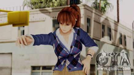 DOA 5 Kasumi Blue Sweater for GTA San Andreas