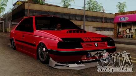 Peugeot 405 Full Sport for GTA San Andreas