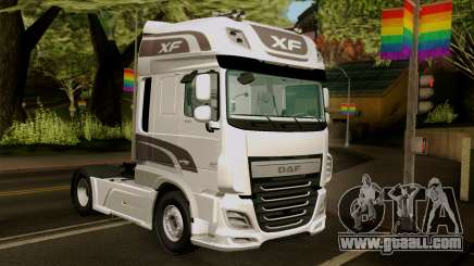 DAF XF Euro 6 SSC for GTA San Andreas