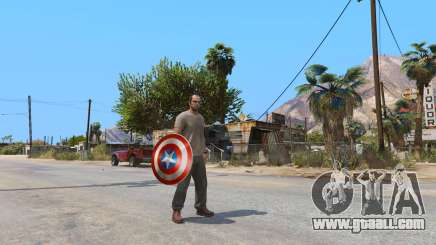 Shield Captain America for GTA 5