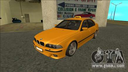1999 BMW 530d E39 Taxi for GTA San Andreas