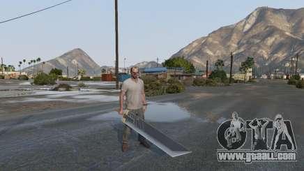 Buster Sword for GTA 5
