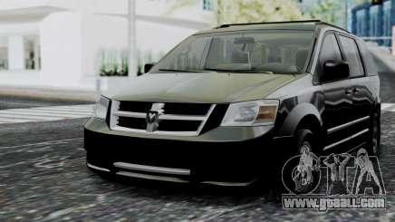 Dodge Grand Caravan 2010 for GTA San Andreas