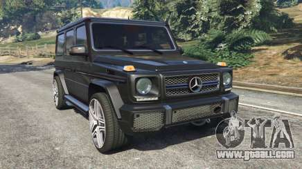 Mercedes-Benz G65 AMG v0.1 [Alpha] for GTA 5