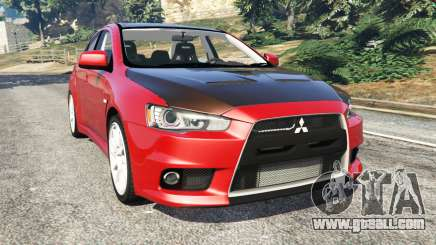 Mitsubishi Lancer Evolution X for GTA 5