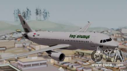 Airbus A320-200 Iraqi Airways for GTA San Andreas