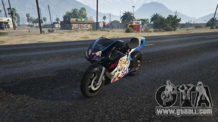 Pegassi Bati 801RR Anime Texture Pack for GTA 5