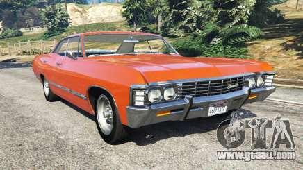 Chevrolet Impala 1967 for GTA 5