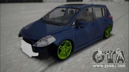 Nissan Tiida Drift Korch for GTA San Andreas