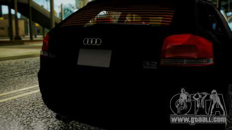 Audi A3 for GTA San Andreas right view