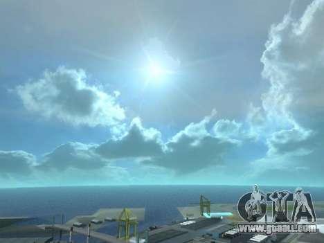 Realistic Skybox HD 2015 for GTA San Andreas third screenshot
