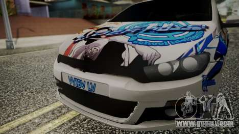 Volkswagen Scirocco for GTA San Andreas right view