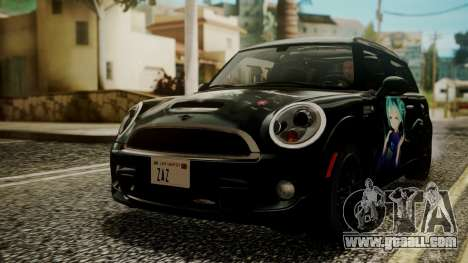 Mini Cooper Clubman 2011 Hatsune Miku Itasha for GTA San Andreas