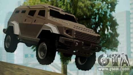 GTA 5 HVY Insurgent for GTA San Andreas