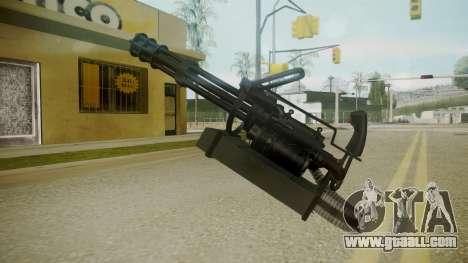 Atmosphere Minigun v4.3 for GTA San Andreas third screenshot