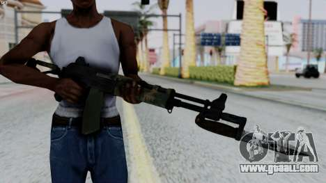 AK-47 from RE6 for GTA San Andreas third screenshot