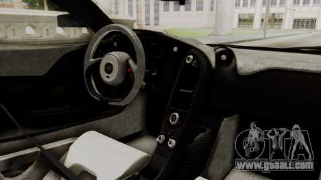 McLaren P1 GTR v1.0 for GTA San Andreas right view