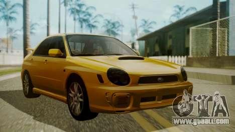 Subaru Impreza WRX GDA for GTA San Andreas