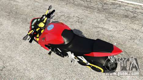 GTA 5 Honda CB1000R back view