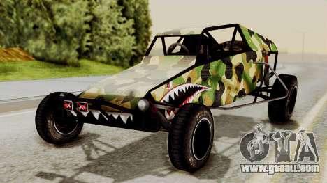 Buggy Camo Shark Mouth for GTA San Andreas