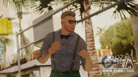 GTA Online Skin Hipster for GTA San Andreas