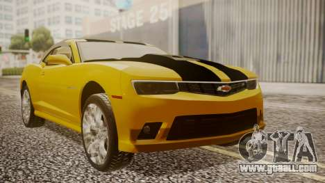 Chevrolet Camaro SS 2015 for GTA San Andreas