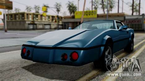 Banshee from Vice City Stories for GTA San Andreas right view